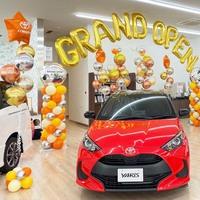 GRAND OPEN トヨタカローラ南茨城 土浦店 様